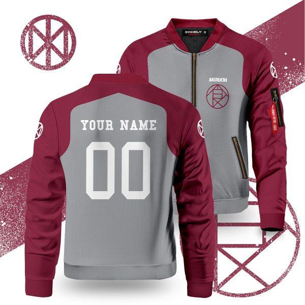 personalized akimichi clan bomber jacket 280321 - Anime Jacket
