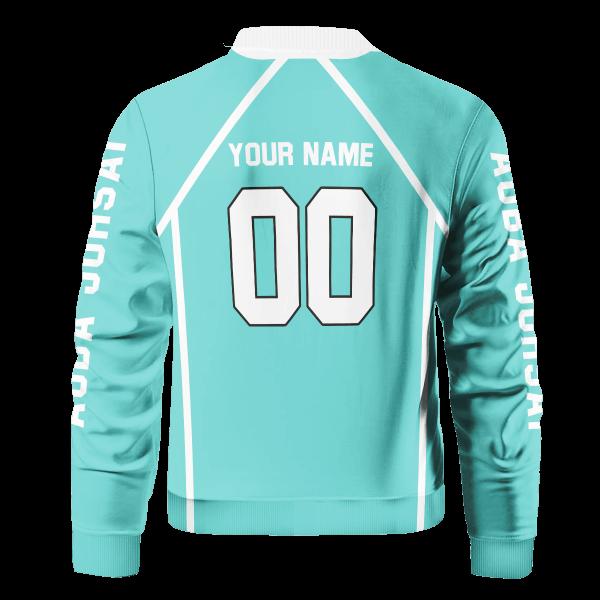 personalized aoba johsai libero bomber jacket 114634 - Anime Jacket