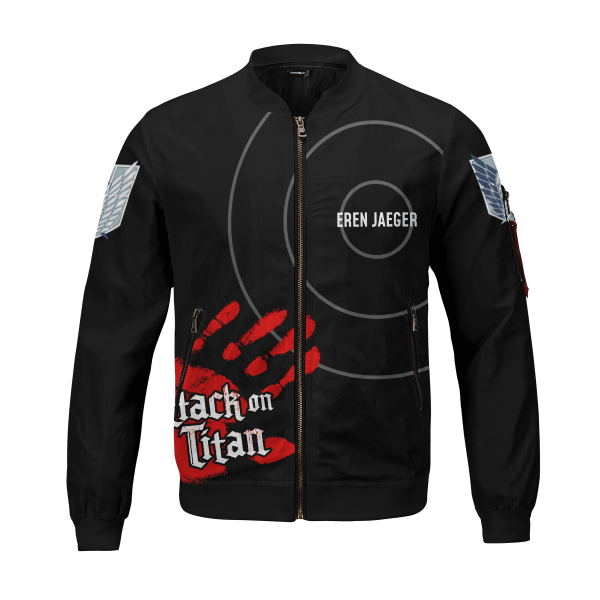 personalized aot skilled corps soldier bomber jacket 274964 - Anime Jacket
