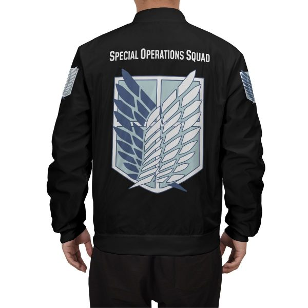 personalized aot skilled corps soldier bomber jacket 451906 - Anime Jacket