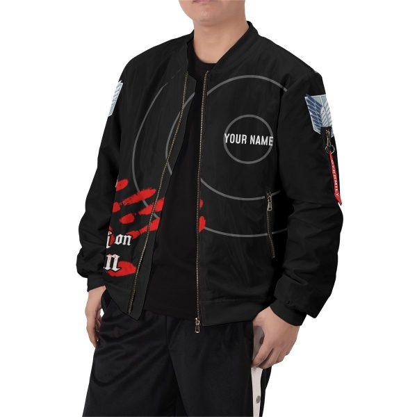 personalized aot skilled corps soldier bomber jacket 757845 - Anime Jacket