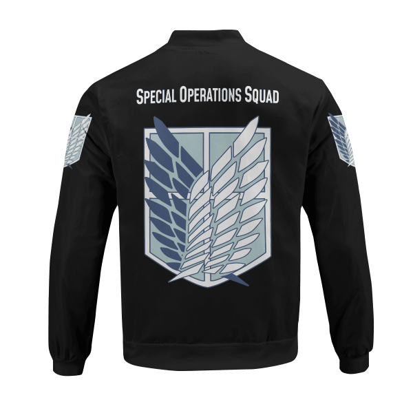 personalized aot skilled corps soldier bomber jacket 780977 - Anime Jacket