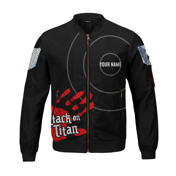 personalized aot skilled corps soldier bomber jacket 953670 - Anime Jacket
