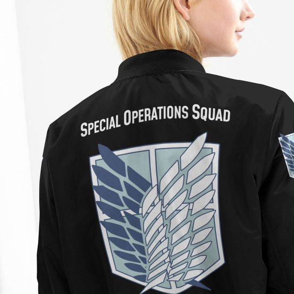 personalized aot skilled corps soldier bomber jacket 991501 - Anime Jacket