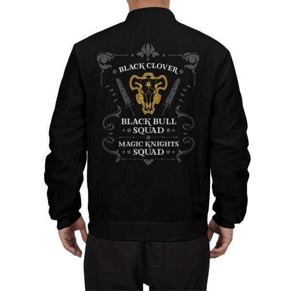 personalized black bull squad bomber jacket 250920 - Anime Jacket