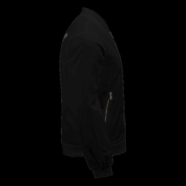 personalized black bull squad bomber jacket 515699 - Anime Jacket