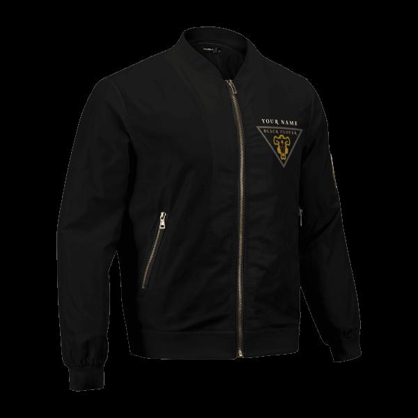 personalized black bull squad bomber jacket 880063 - Anime Jacket
