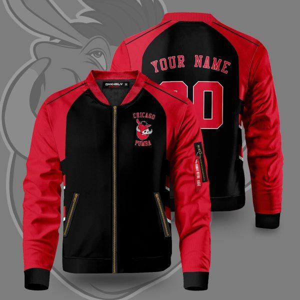 personalized chicago pumba bomber jacket 297382 - Anime Jacket