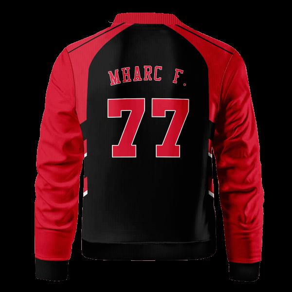 personalized chicago pumba bomber jacket 446681 - Anime Jacket