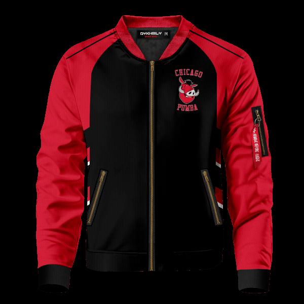 personalized chicago pumba bomber jacket 878162 - Anime Jacket