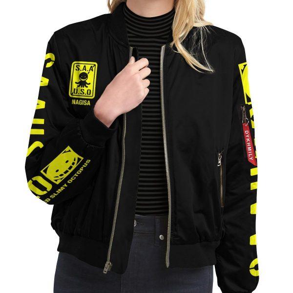 personalized class 3 e bomber jacket 255885 - Anime Jacket