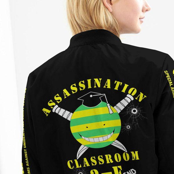 personalized class 3 e bomber jacket 547273 - Anime Jacket
