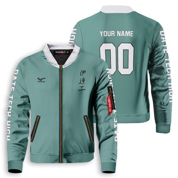 personalized datekou libero bomber jacket 919080 - Anime Jacket
