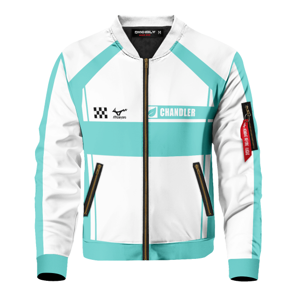personalized f1 aoba johsai bomber jacket 112126 - Anime Jacket