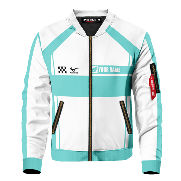 personalized f1 aoba johsai bomber jacket 280357 - Anime Jacket