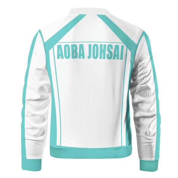 personalized f1 aoba johsai bomber jacket 867441 - Anime Jacket