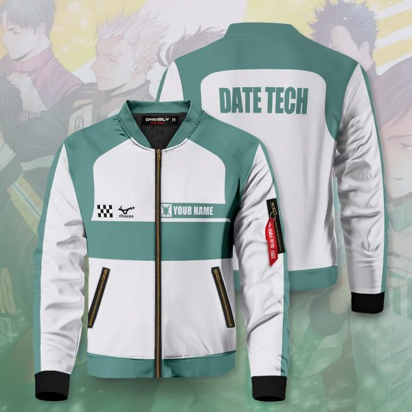 personalized f1 datekou bomber jacket 660700 - Anime Jacket