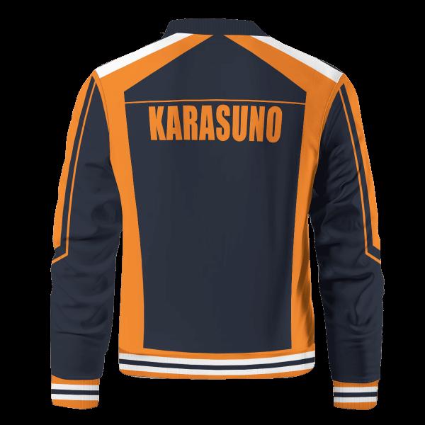 personalized f1 karasuno bomber jacket 103493 - Anime Jacket