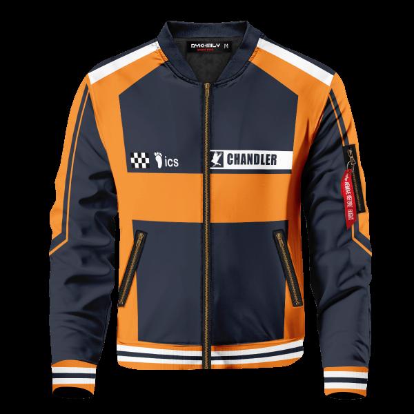 personalized f1 karasuno bomber jacket 573502 - Anime Jacket