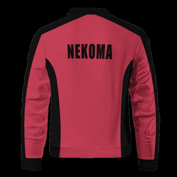 personalized f1 nekoma bomber jacket 189904 - Anime Jacket