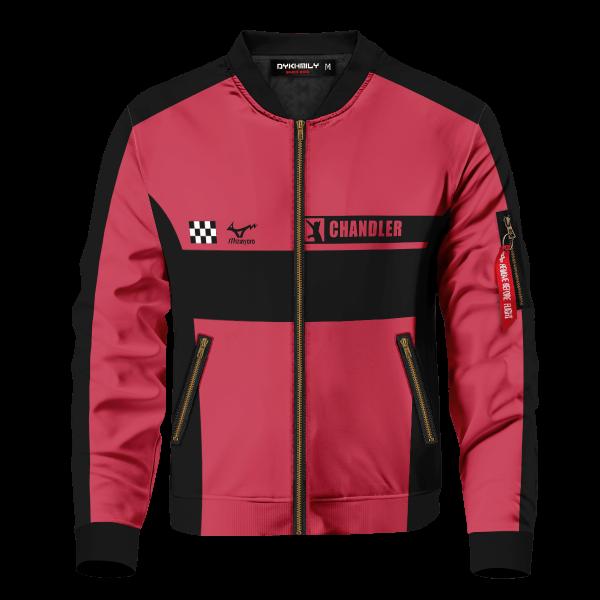 personalized f1 nekoma bomber jacket 900398 - Anime Jacket