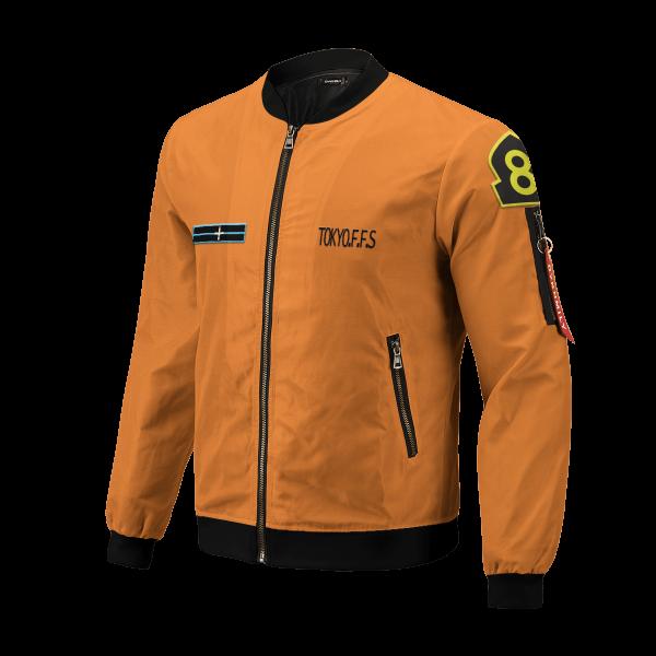 personalized fire force company 8 bomber jacket 336518 - Anime Jacket