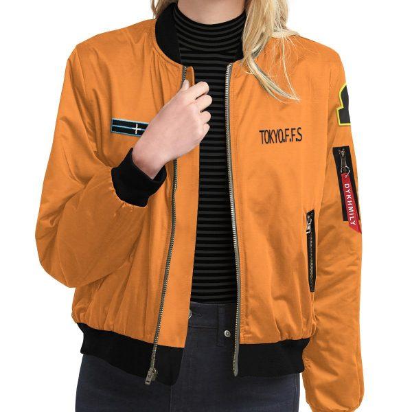personalized fire force company 8 bomber jacket 464481 - Anime Jacket