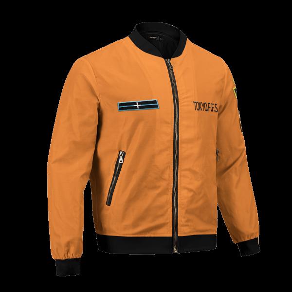 personalized fire force company 8 bomber jacket 618114 - Anime Jacket