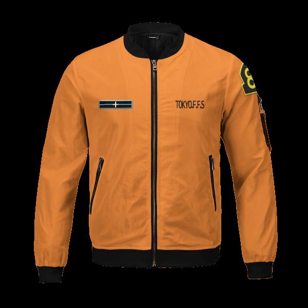 personalized fire force company 8 bomber jacket 691949 - Anime Jacket