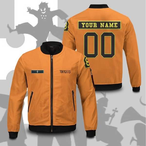 personalized fire force company 8 bomber jacket 711184 - Anime Jacket