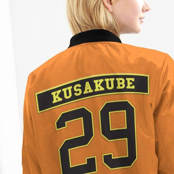 personalized fire force company 8 bomber jacket 759867 - Anime Jacket