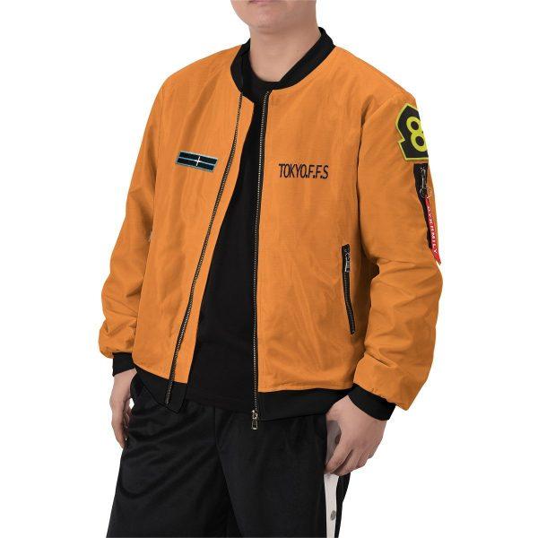 personalized fire force company 8 bomber jacket 892192 - Anime Jacket
