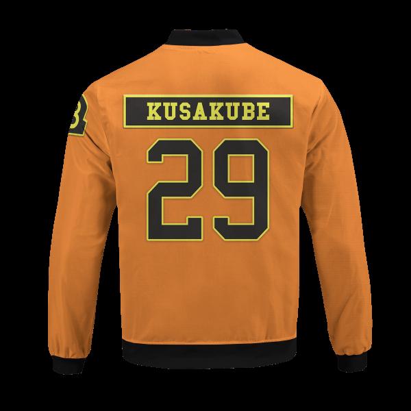 personalized fire force company 8 bomber jacket 961782 - Anime Jacket