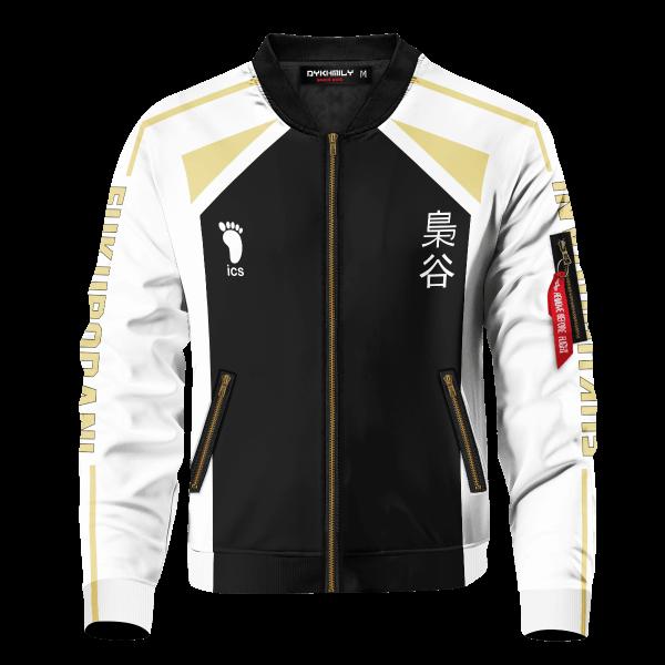 personalized fukurodani libero bomber jacket 664249 - Anime Jacket