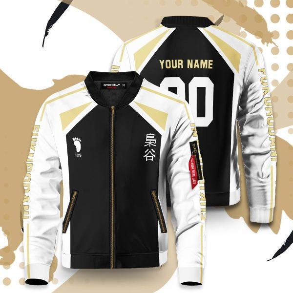 personalized fukurodani libero bomber jacket 892809 - Anime Jacket