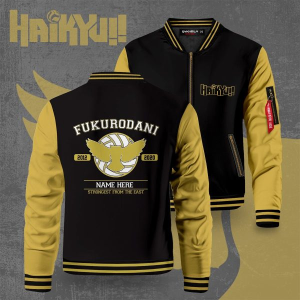 personalized fukurodani strongest from the east bomber jacket 489818 - Anime Jacket