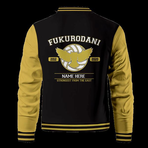 personalized fukurodani strongest from the east bomber jacket 598452 - Anime Jacket