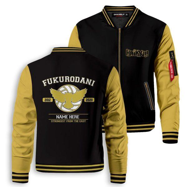personalized fukurodani strongest from the east bomber jacket 959077 - Anime Jacket