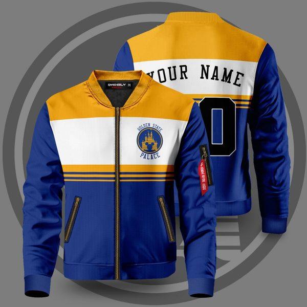 personalized golden state palace bomber jacket 696552 - Anime Jacket