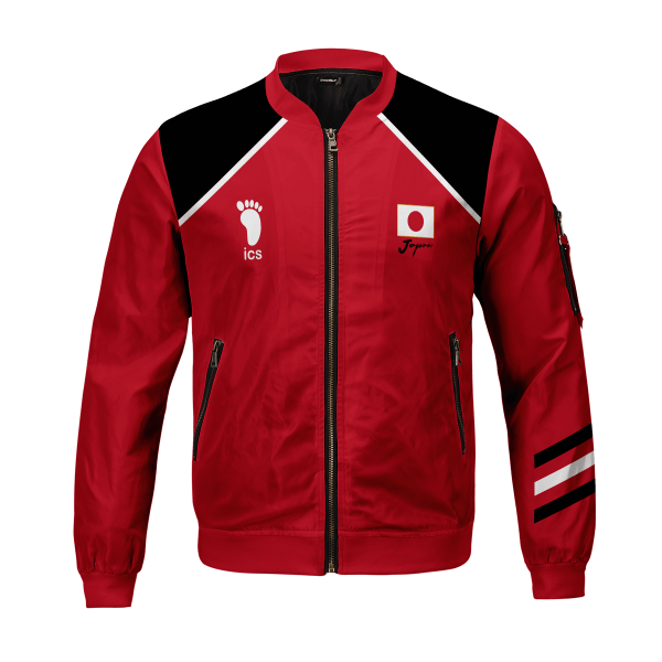 personalized haikyuu national team bomber jacket 366538 - Anime Jacket