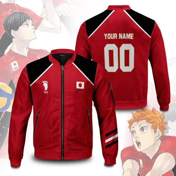 personalized haikyuu national team bomber jacket 446284 - Anime Jacket