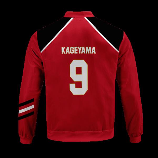 personalized haikyuu national team bomber jacket 483761 - Anime Jacket