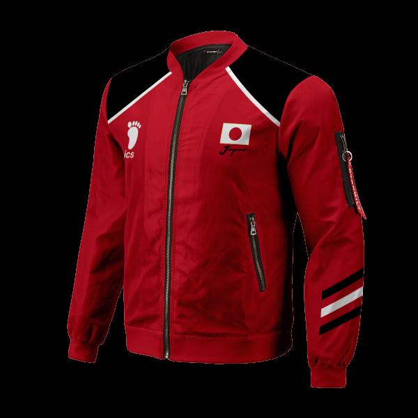 personalized haikyuu national team bomber jacket 494165 - Anime Jacket