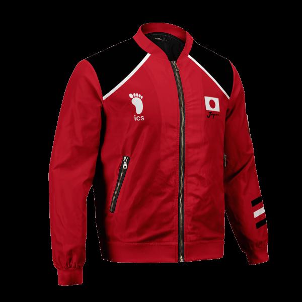personalized haikyuu national team bomber jacket 540722 - Anime Jacket