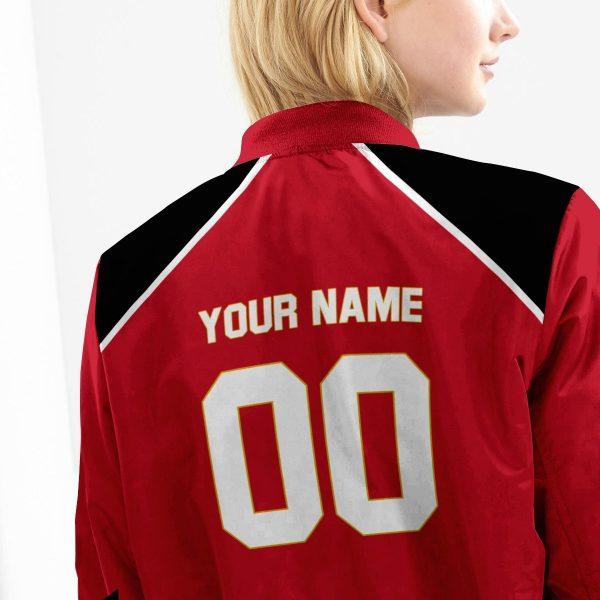 personalized haikyuu national team bomber jacket 564166 - Anime Jacket