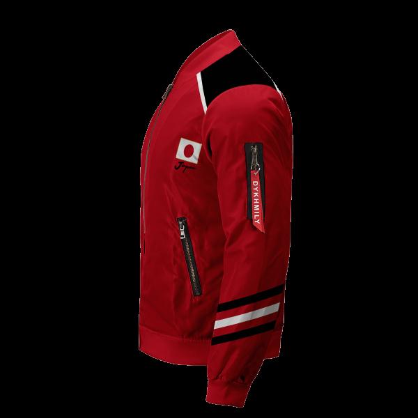 personalized haikyuu national team bomber jacket 681727 - Anime Jacket