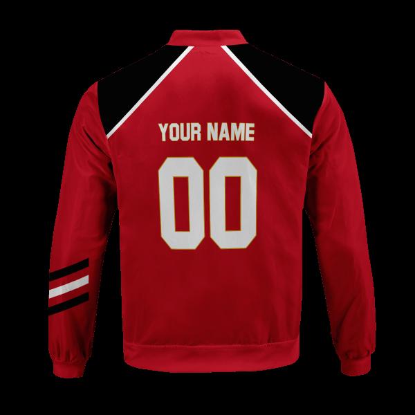 personalized haikyuu national team bomber jacket 704565 - Anime Jacket