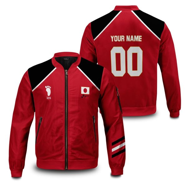 personalized haikyuu national team bomber jacket 713445 - Anime Jacket