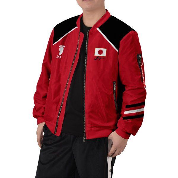 personalized haikyuu national team bomber jacket 718044 - Anime Jacket