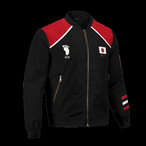 personalized haikyuu national team libero bomber jacket 229513 - Anime Jacket
